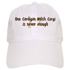 Never enough: Cardigan Welsh Baseball Cap