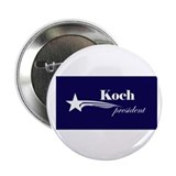 "David Koch president 2.25"" Button"