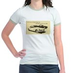 Two '53 Studebakers on Jr. Ringer T-Shirt