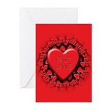 fast lane Greeting Cards (Pk of 20)