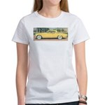 Yellow Studebaker on Women's T-Shirt