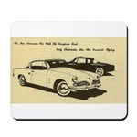 Two '53 Studebakers on Mousepad