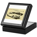 Two '53 Studebakers on Keepsake Box