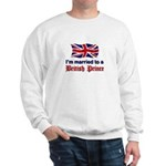 Married To British Prince Sweatshirt