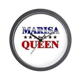 MARISA for queen Wall Clock