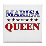 MARISA for queen Tile Coaster