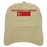 SINGAPOREAN BY MARRIAGE Baseball Cap