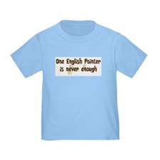 Never enough: English Pointer T