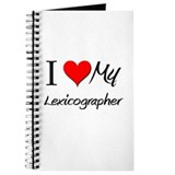 I Heart My Lexicographer Journal