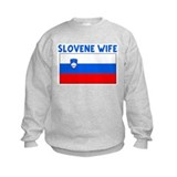 SLOVENE WIFE Sweatshirt