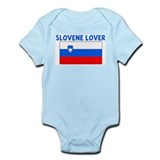 SLOVENE LOVER Infant Bodysuit