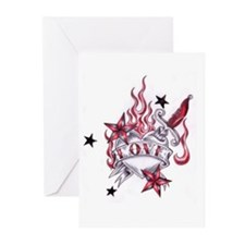 Unique Raw Greeting Cards (Pk of 10)