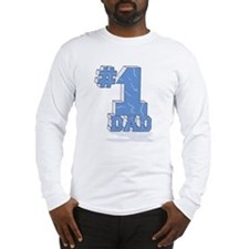 #1 / NUMBER ONE DAD! Long Sleeve T-Shirt
