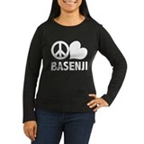 Peace Love Basenji T-Shirt