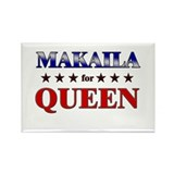 MAKAILA for queen Rectangle Magnet (10 pack)