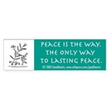 Pacifist Bumper Bumper Sticker