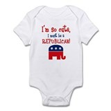 So Cute Republican Infant Bodysuit
