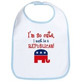So Cute Republican Bib