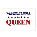 MAGDALENA for queen Postcards (Package of 8)