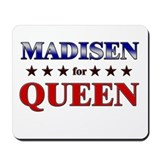 MADISEN for queen Mousepad
