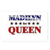 MADILYN for queen Postcards (Package of 8)