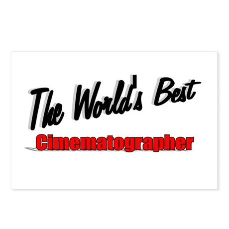 """The World's Best Cinematographer"" Postcards (Pack"