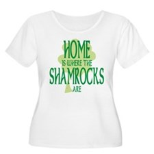 Where the Shamrocks Are T-Shirt