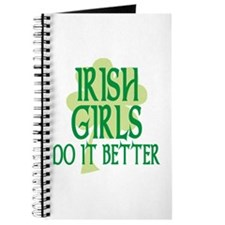 Irish Girls Do it Better Journal