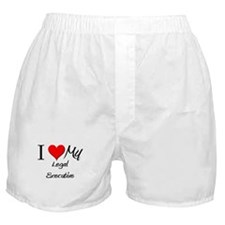 I Heart My Legal Executive Boxer Shorts