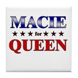 MACIE for queen Tile Coaster