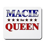 MACIE for queen Mousepad