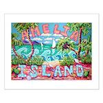 Amelia Island Small Poster