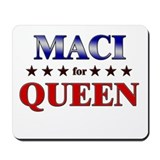 MACI for queen Mousepad