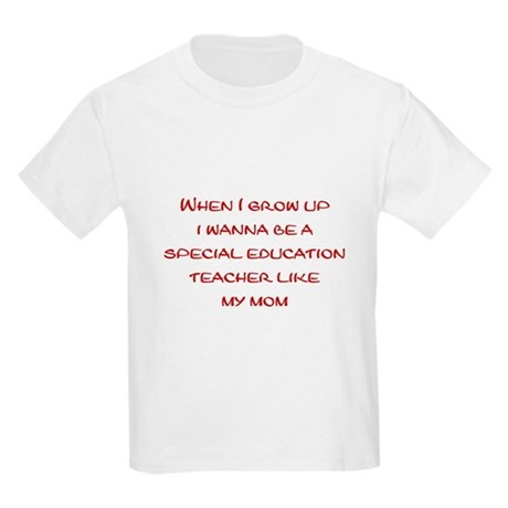 Special Education Teacher Kids Light T-Shirt