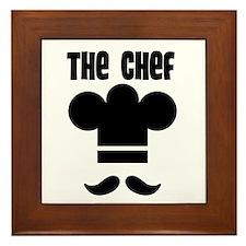 The Chef Framed Tile