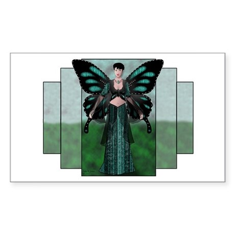 Etégina the Night Fairy Rectangle Sticker