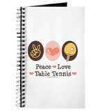 Peace Love Table Tennis Journal