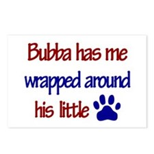 Bubba Has Me Wrapped Around H Postcards (Package o