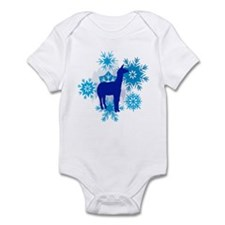 Alpaca Snowflakes Infant Bodysuit