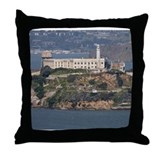 Alcatraz Island 2 Throw Pillow