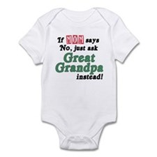 Just Ask Great Grandpa! Baby Onesie