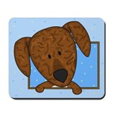 Cartoon Plott Hound Mousepad