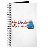 Police - My Daddy My Hero Journal