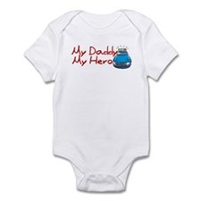Police - My Daddy My Hero Infant Bodysuit