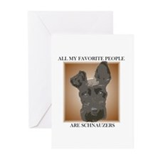 All My Favorite (brown)- Greeting Cards (Package o