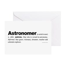 Astronomer Greeting Card