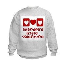 Grandpa's little Valentine Sweatshirt