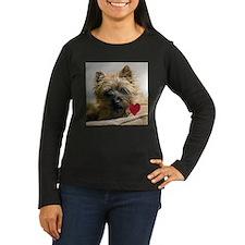 Cairn Terrier Beau Valentine T-Shirt