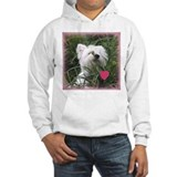 Nature Boy Westie Valentine Jumper Hoody