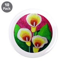 "Lilly 3.5"" Button (10 pack)"